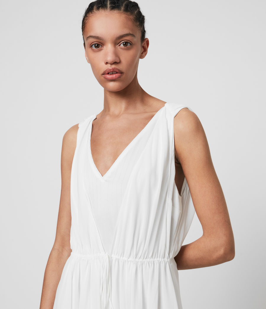 Womens Celeste Dress (chalk_white) - Image 2