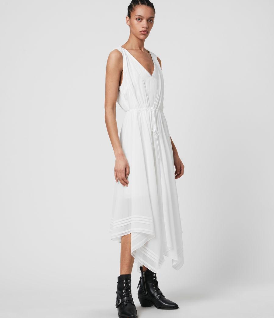Womens Celeste Dress (chalk_white) - Image 3