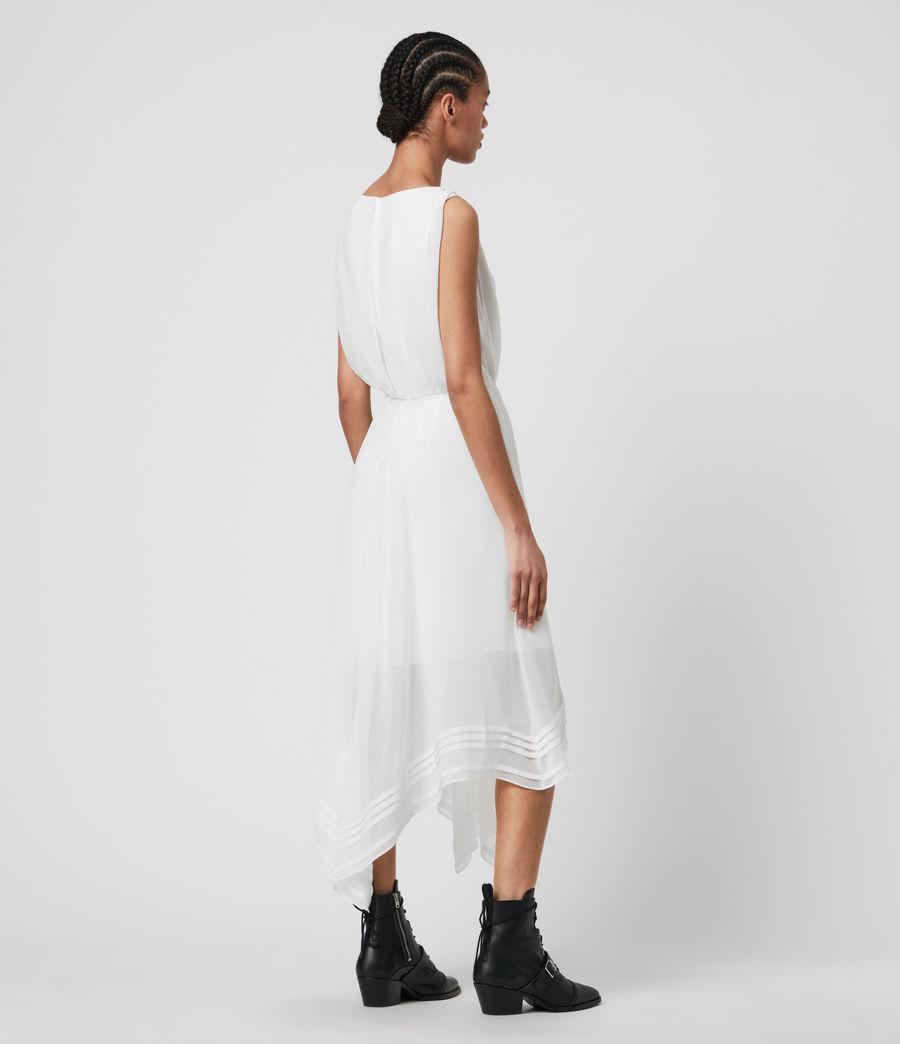 Womens Celeste Dress (chalk_white) - Image 5