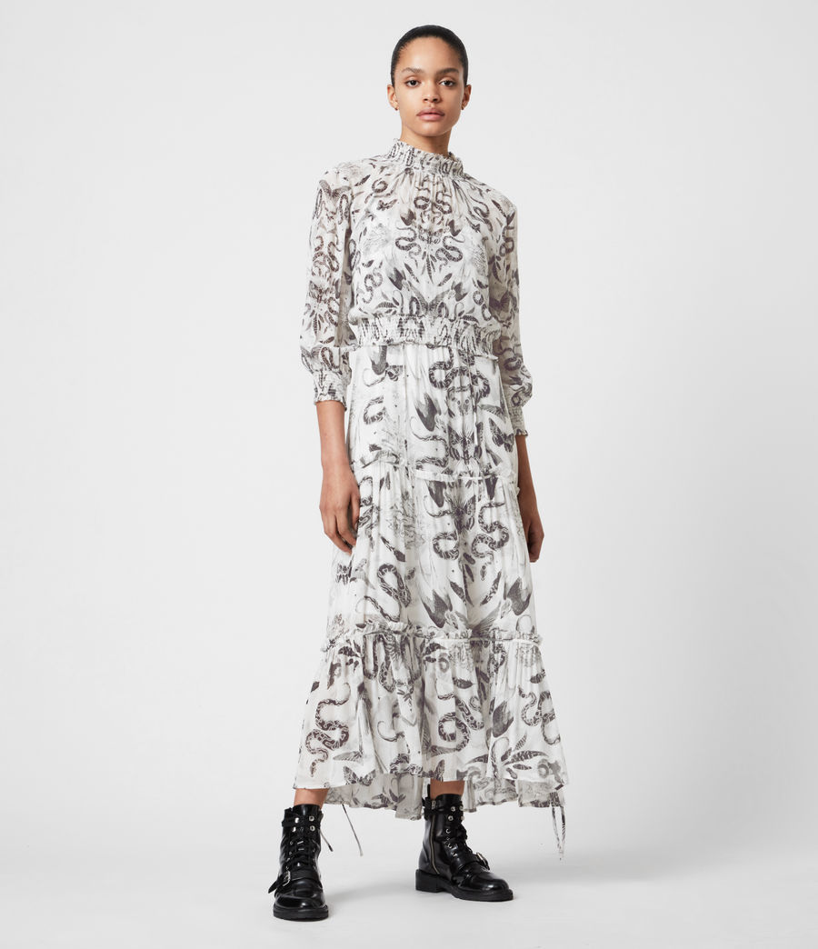 Womens Taya 2-In-1 Somnium Dress (chalk_white) - Image 1