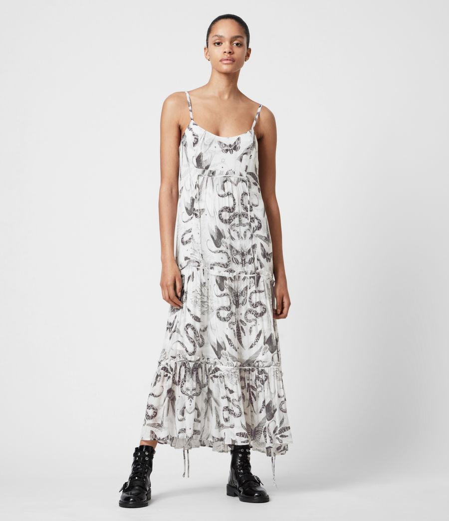 Womens Taya 2-In-1 Somnium Dress (chalk_white) - Image 11