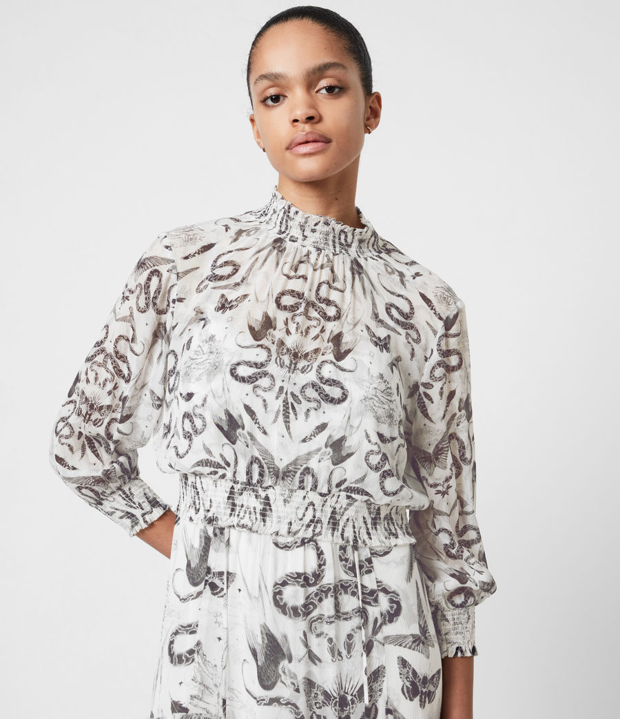 Womens Taya 2-In-1 Somnium Dress (chalk_white) - Image 7