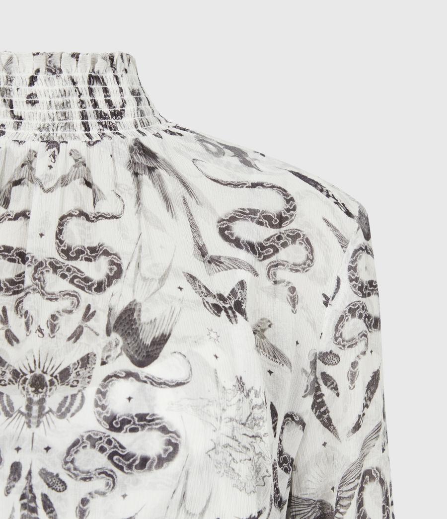 Womens Taya 2-In-1 Somnium Dress (chalk_white) - Image 9
