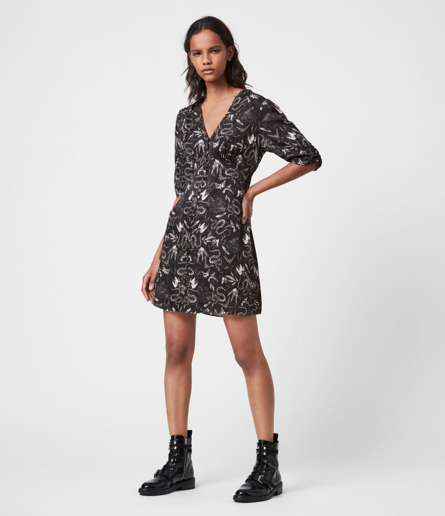 Womens Kota Somnium Dress (black) - Image 4