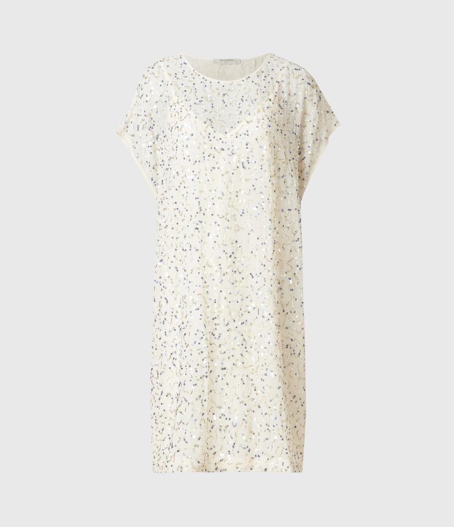 Femmes Loren Embellished Dress (pearl_gold) - Image 2