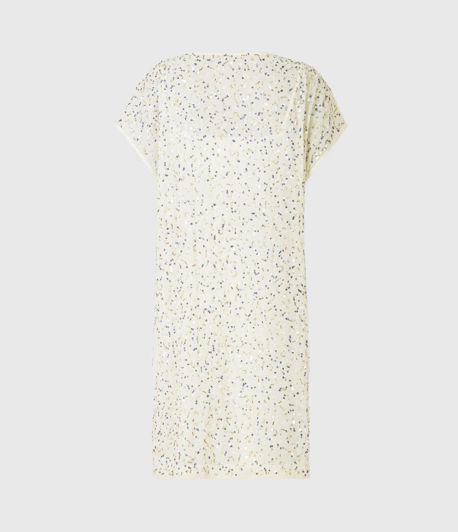 Femmes Loren Embellished Dress (pearl_gold) - Image 3