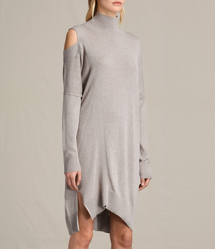 Womens Cecily Dress (sable_brown) - Image 3