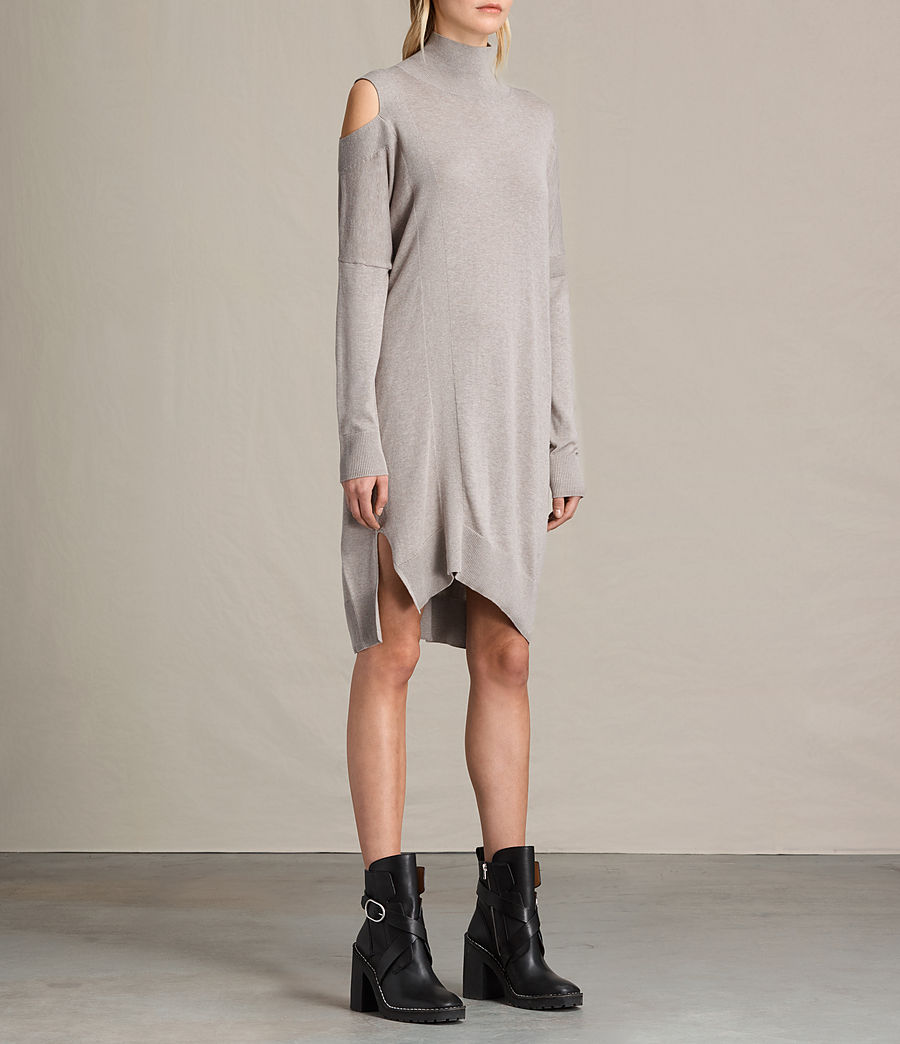 Womens Cecily Dress (sable_brown) - Image 4