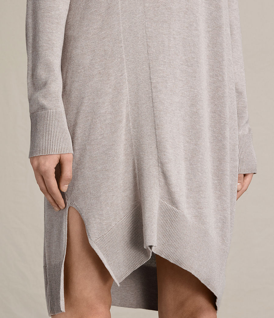Womens Cecily Dress (sable_brown) - Image 5