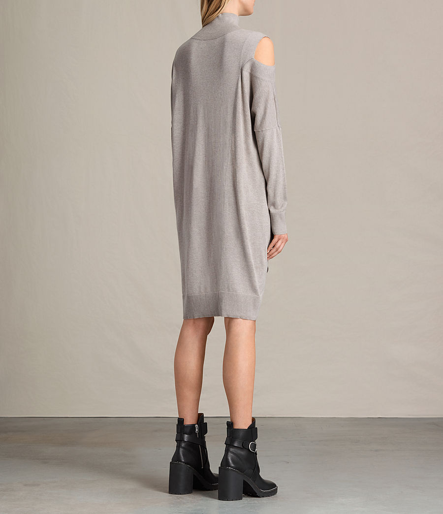 Womens Cecily Dress (sable_brown) - Image 7