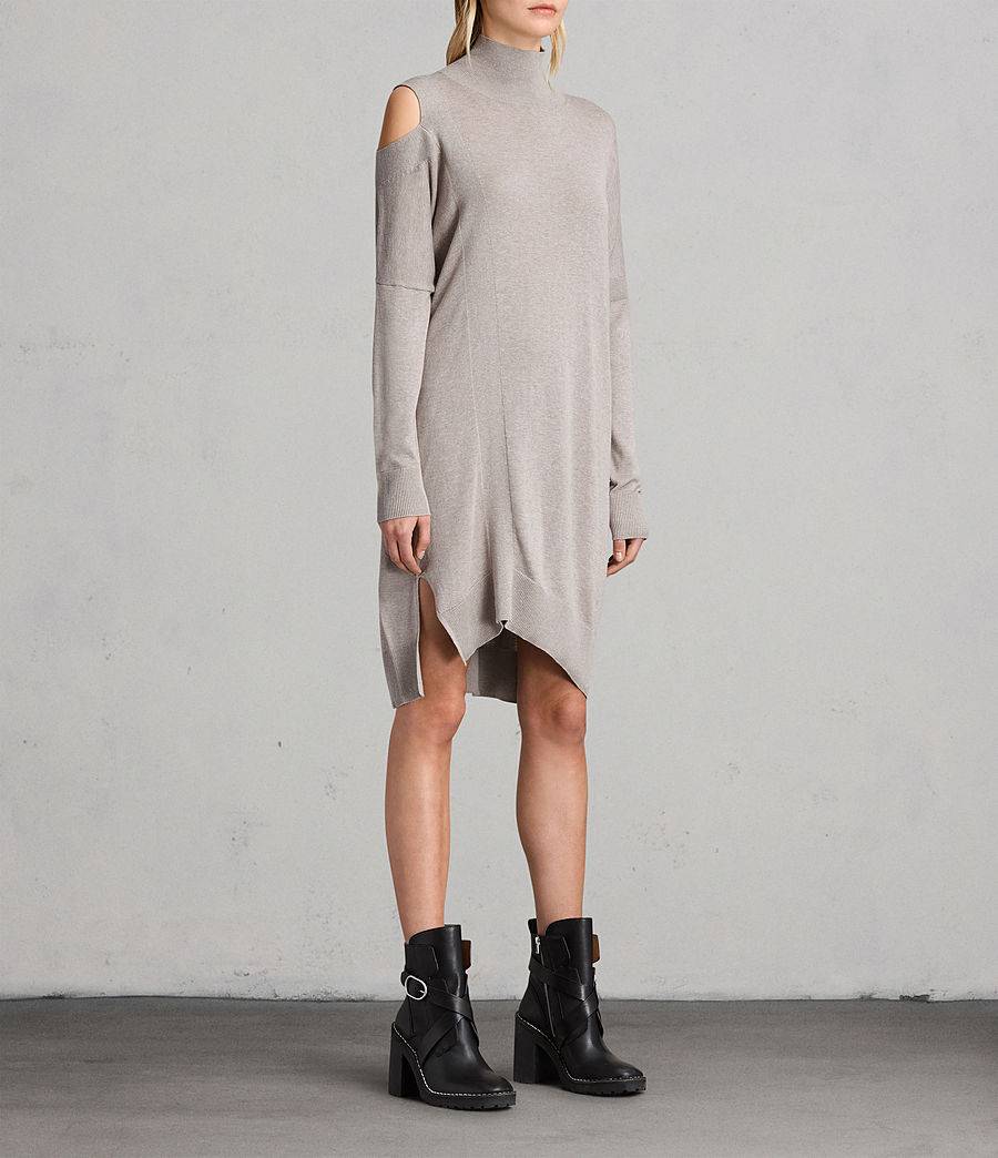 Women's Cecily Dress (sablebrownmarl) - Image 4