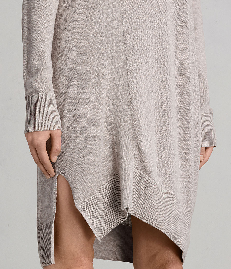 Women's Cecily Dress (sablebrownmarl) - Image 5