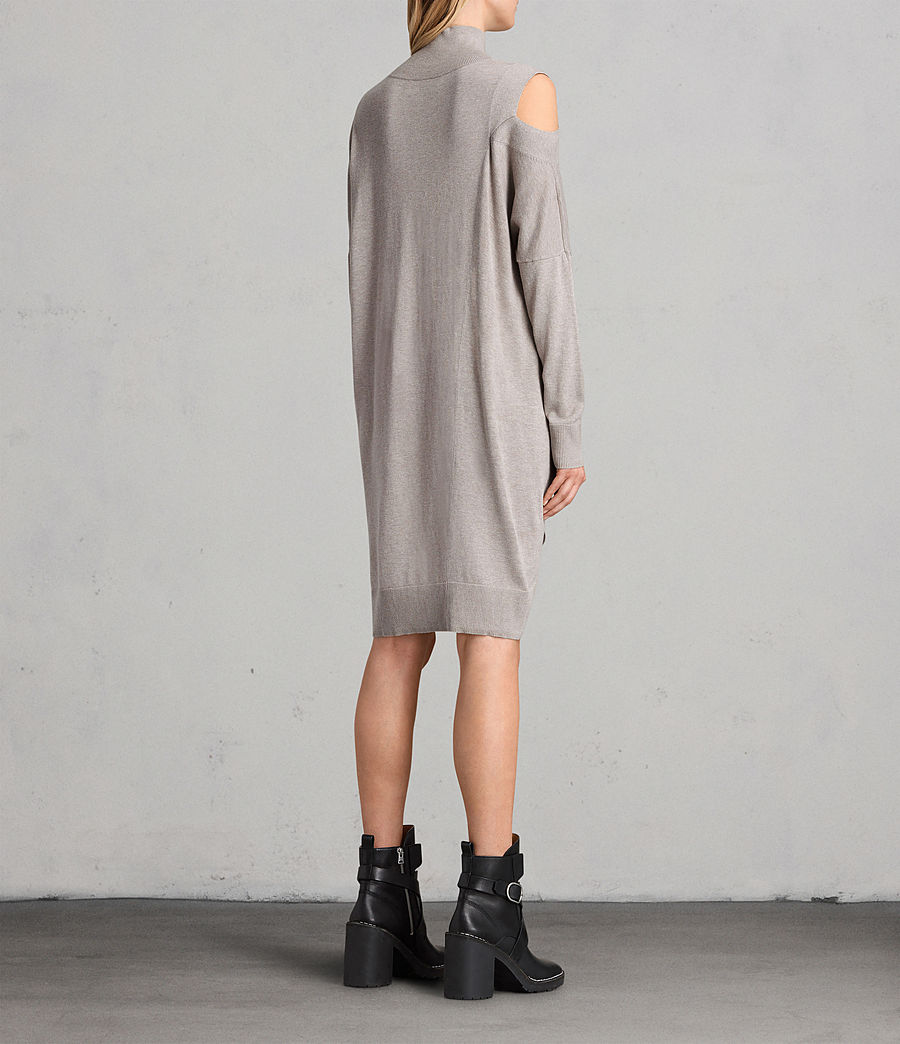 Women's Cecily Dress (sablebrownmarl) - Image 7