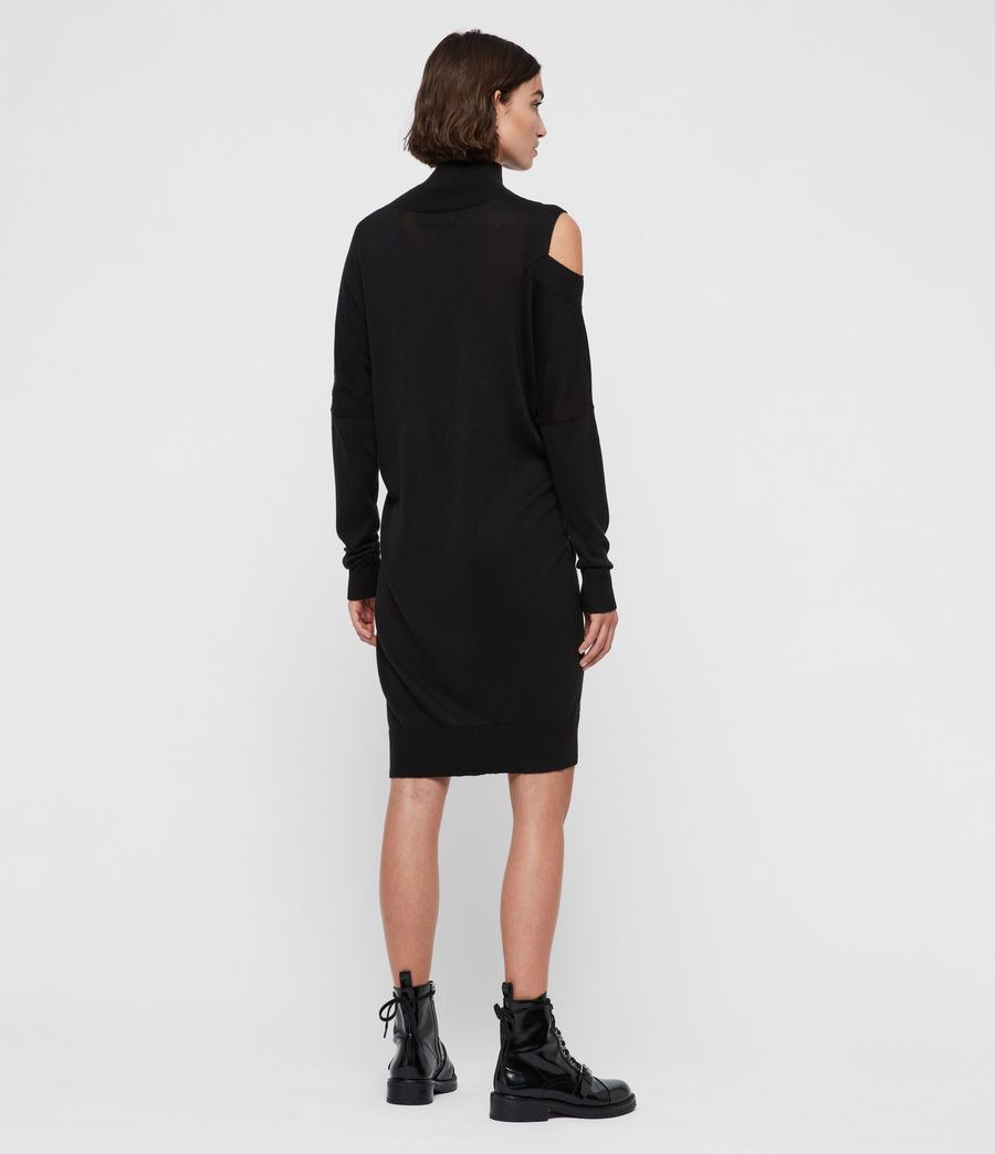 Women's Cecily Dress (black) - Image 4