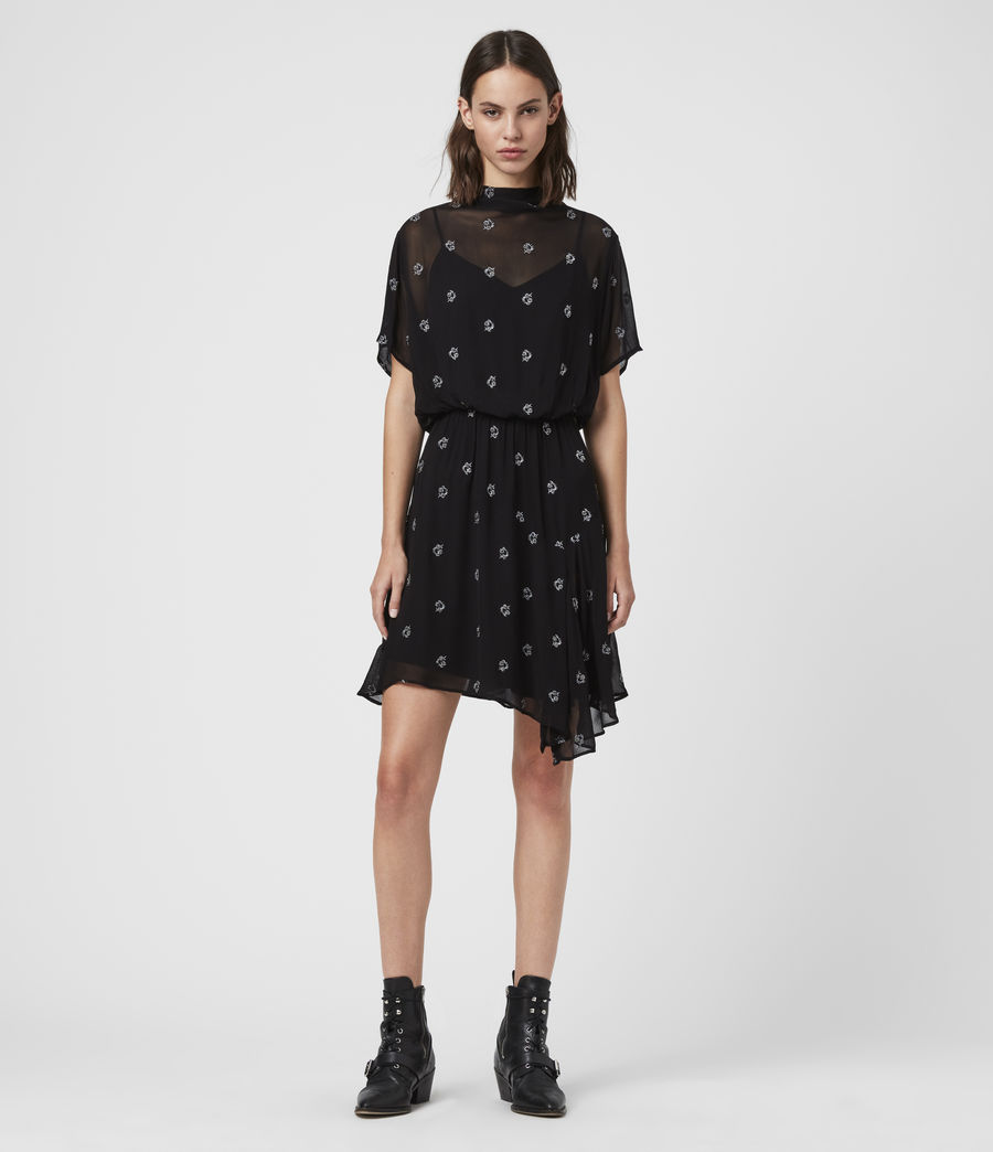 Damen Giulia Cyla Dress (black) - Image 3