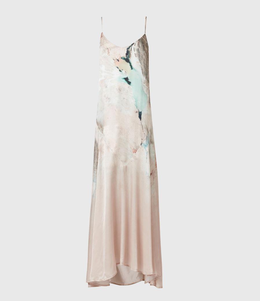 Womens Essey Silk Blend Cassus Dress (plaster_pink) - Image 2