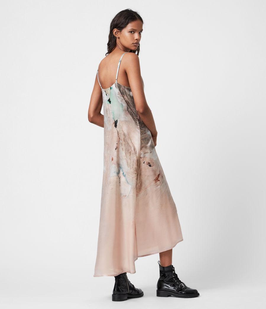 Womens Essey Silk Blend Cassus Dress (plaster_pink) - Image 4