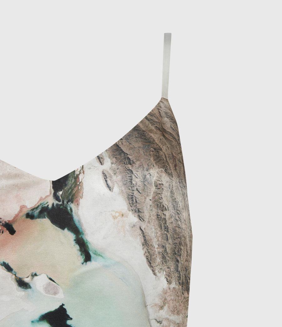Womens Essey Silk Blend Cassus Dress (plaster_pink) - Image 5