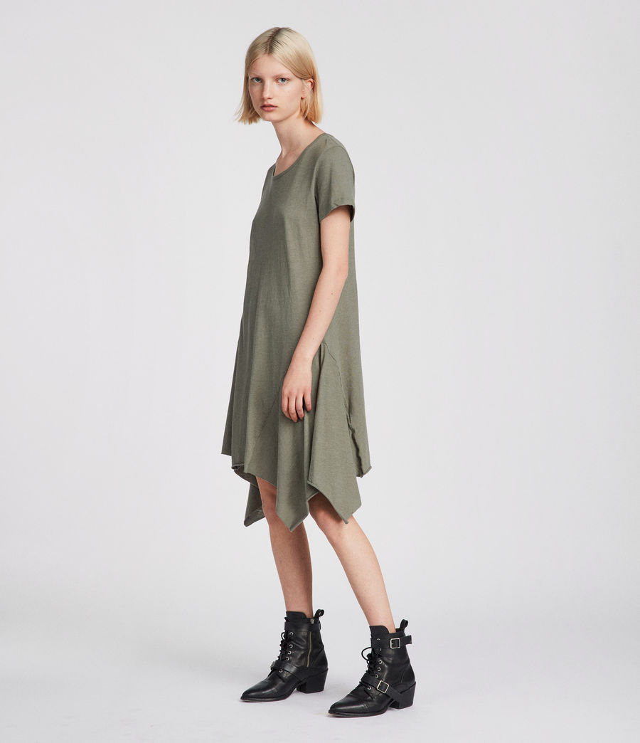 Women's Ella Fifi Tee Dress (anthracite_grey) - Image 1