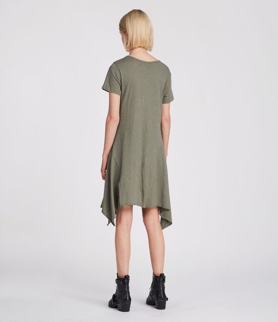 Women's Ella Fifi Tee Dress (anthracite_grey) - Image 5