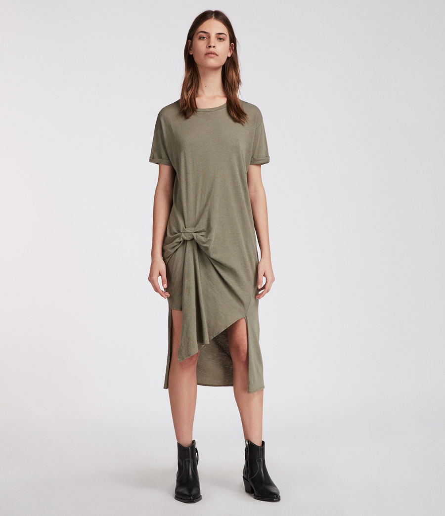 Donne T-rivi Ida Dress (anthracite_grey) - Image 1