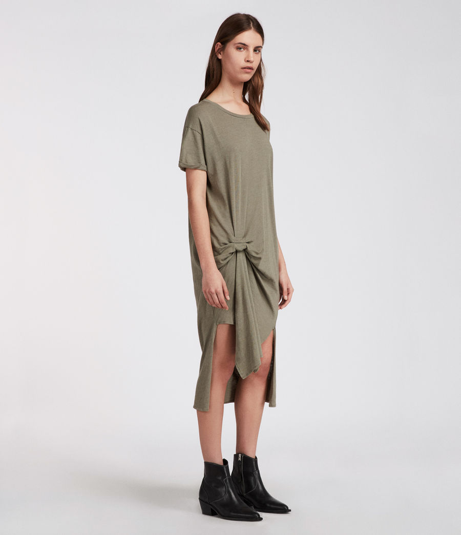 Donne T-rivi Ida Dress (anthracite_grey) - Image 3