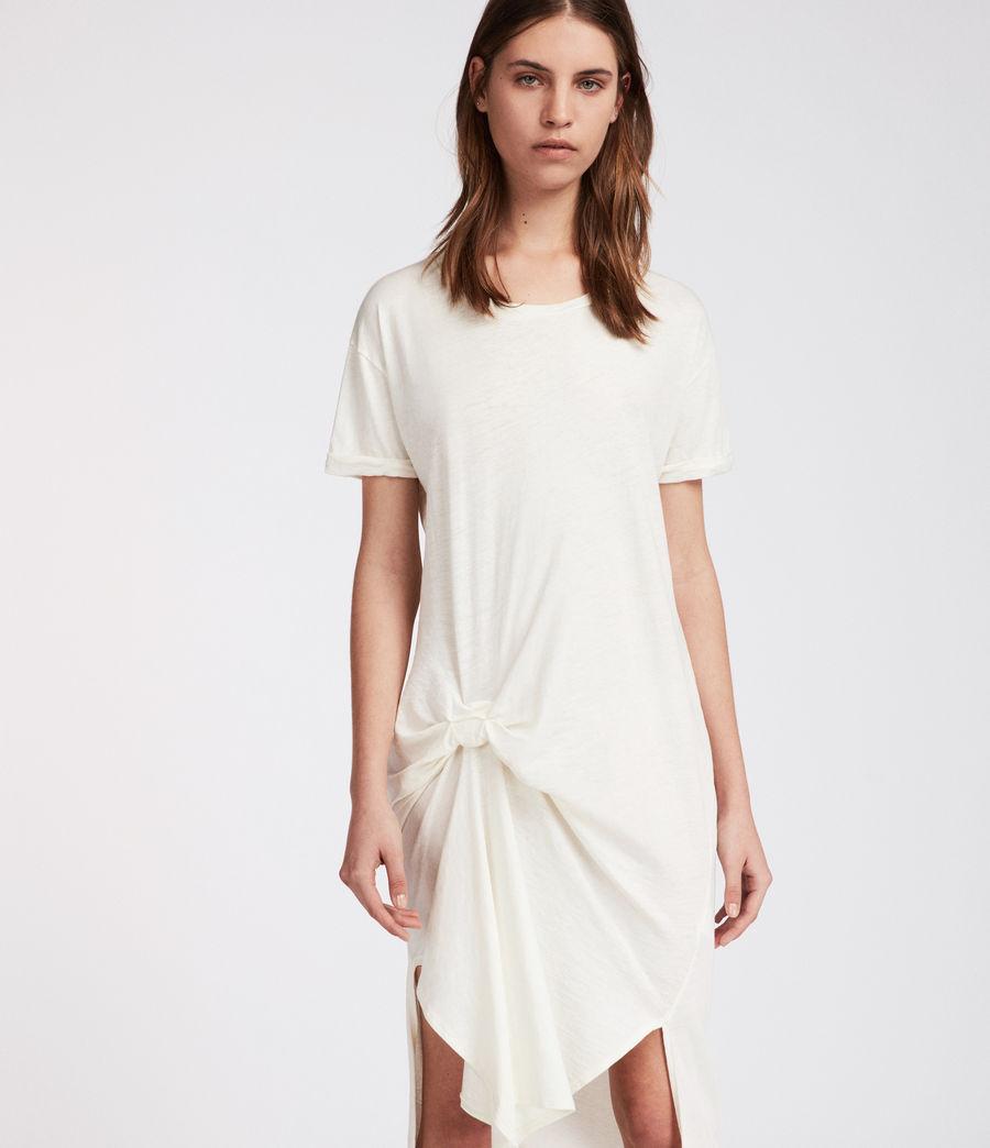 Femmes Robe T-rivi Ida (chalk_white) - Image 2