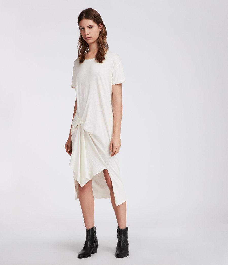 Femmes Robe T-rivi Ida (chalk_white) - Image 3