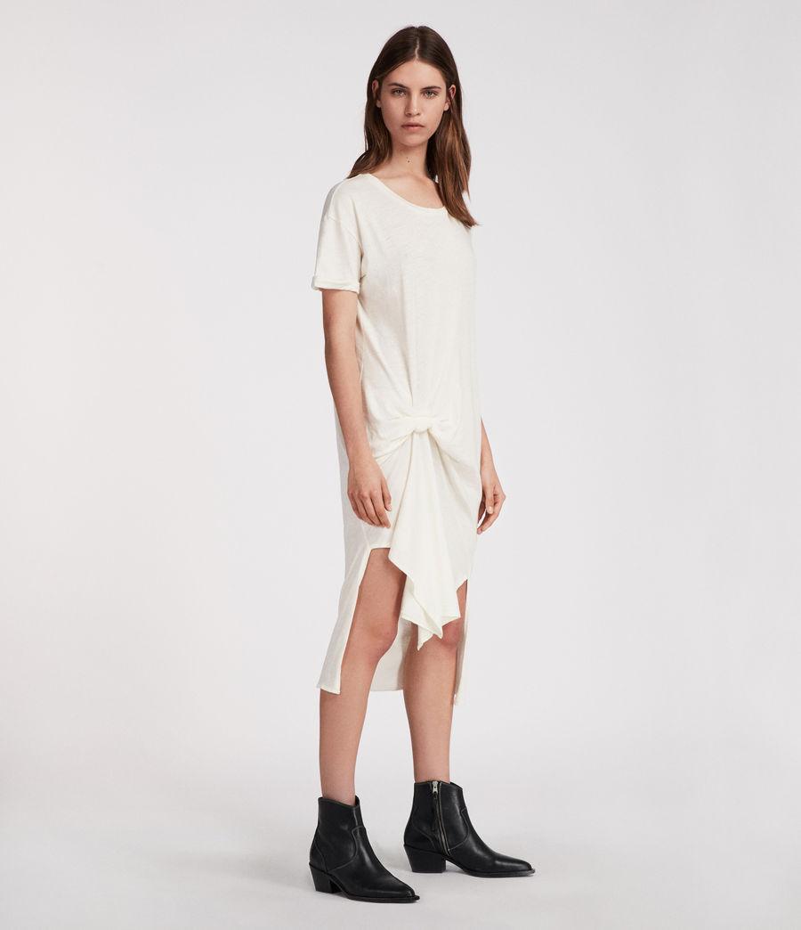 Femmes Robe T-rivi Ida (chalk_white) - Image 4
