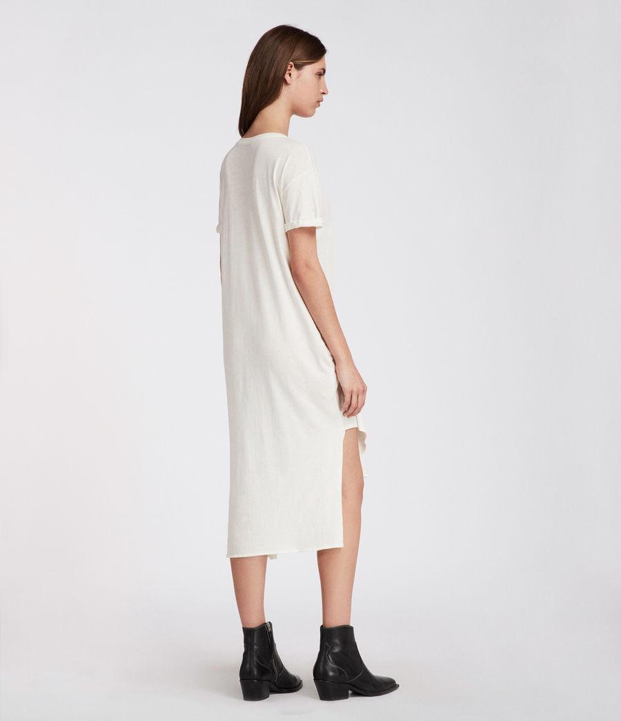 Femmes Robe T-rivi Ida (chalk_white) - Image 5