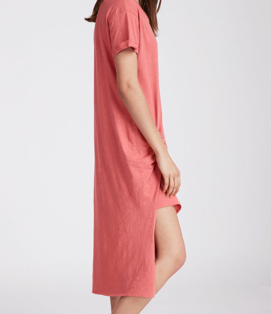 Womens T-rivi Ida Dress (coral_pink) - Image 2