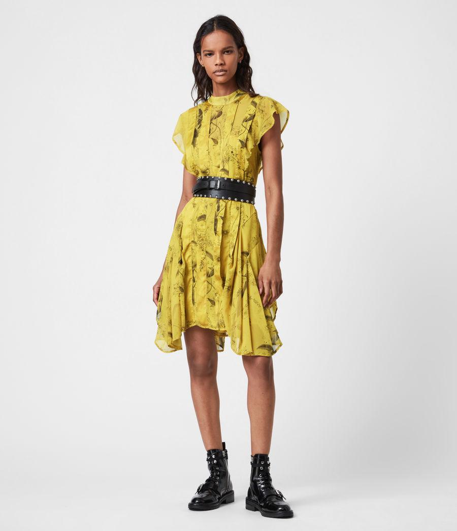 Women's Fleur Demoir Dress (garden_olive) - Image 1