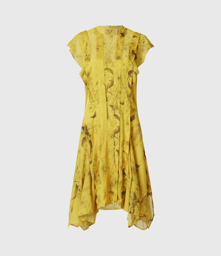 Women's Fleur Demoir Dress (garden_olive) - Image 2