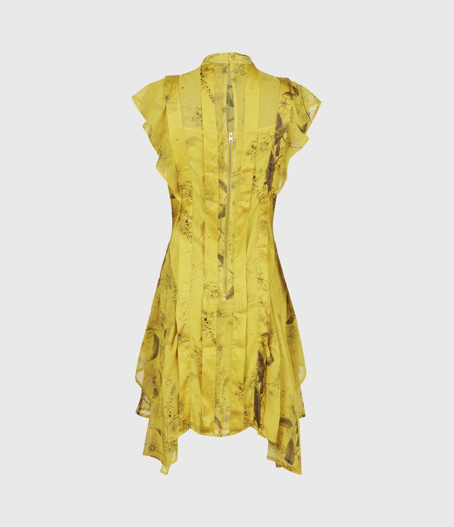 Women's Fleur Demoir Dress (garden_olive) - Image 3