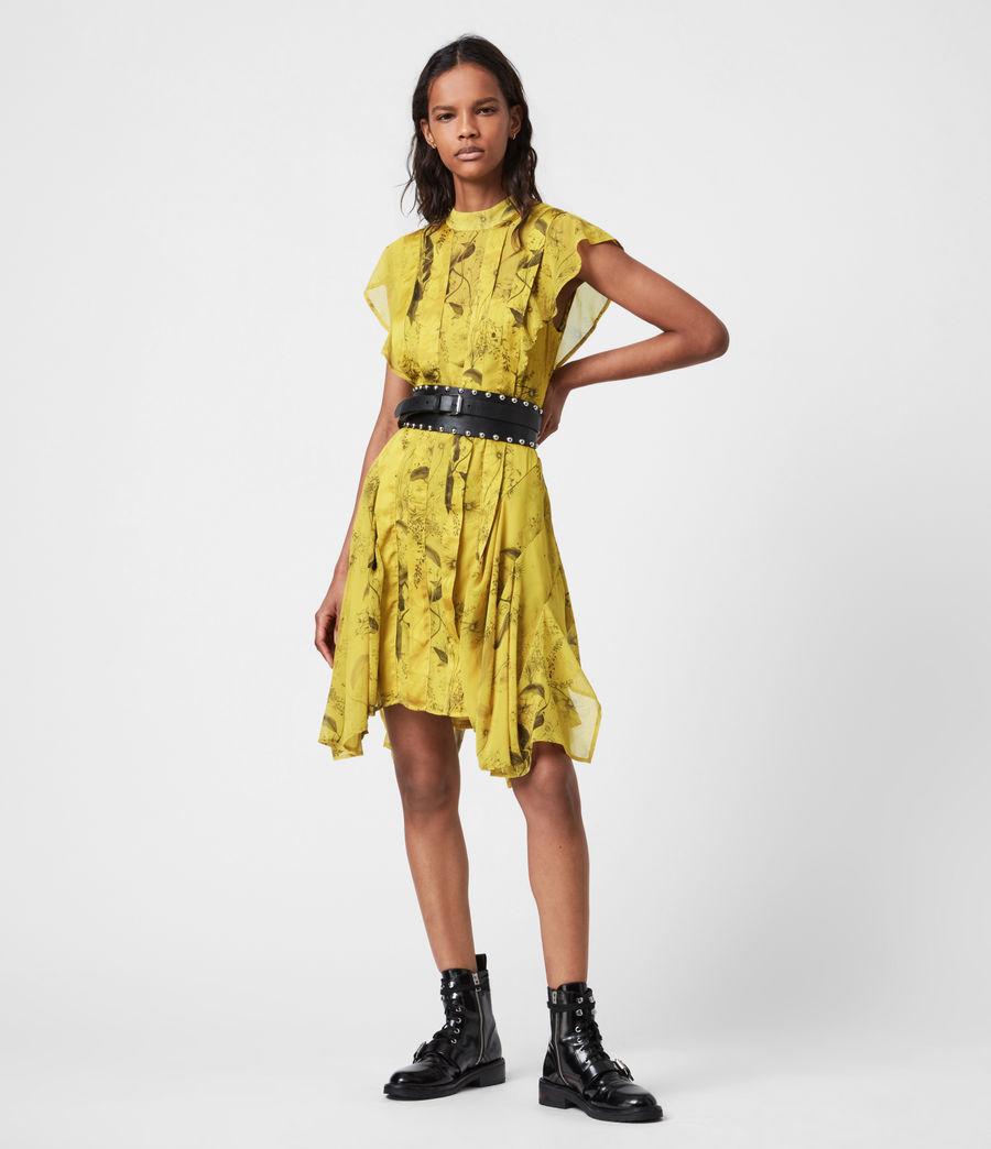 Women's Fleur Demoir Dress (garden_olive) - Image 4