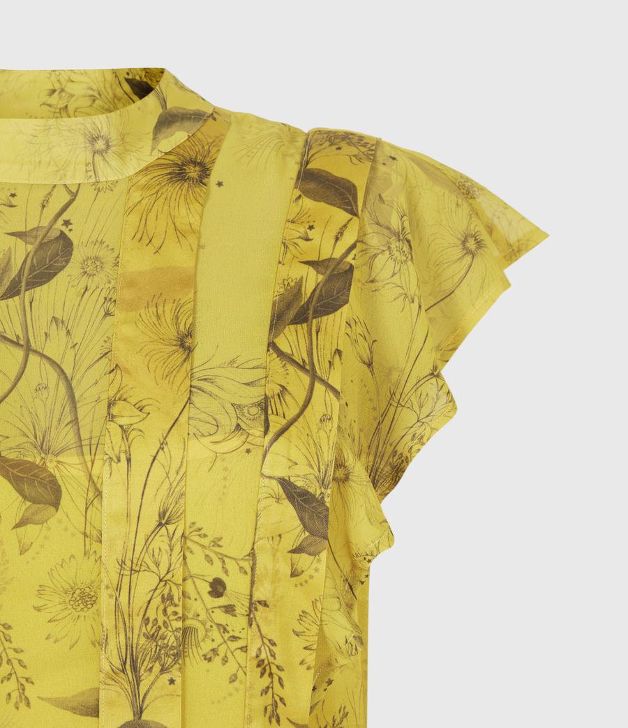 Women's Fleur Demoir Dress (garden_olive) - Image 5