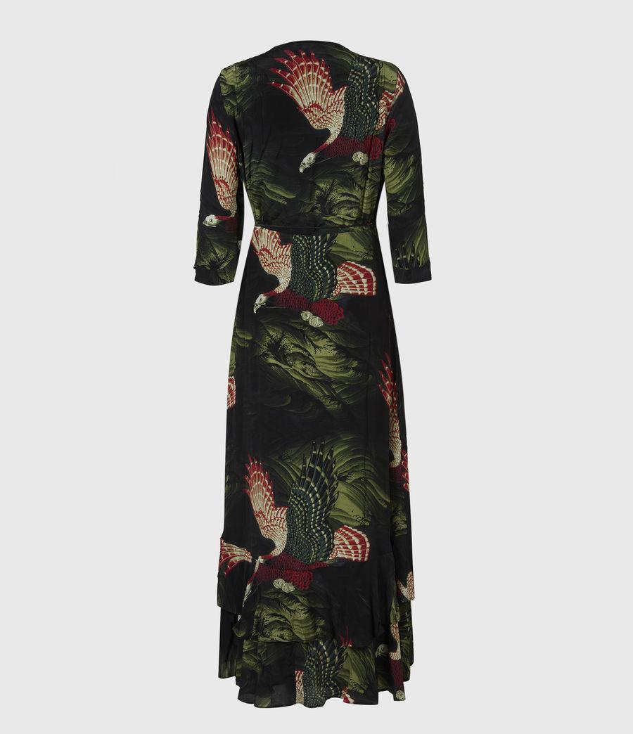 Damen Delana Swoop Kleid (moss_green) - Image 3