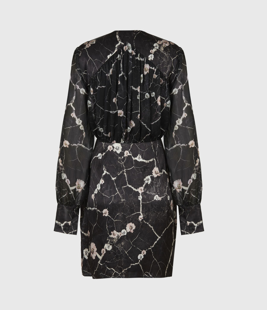 Women's Limina Silk Blend Hope Dress (black) - Image 3