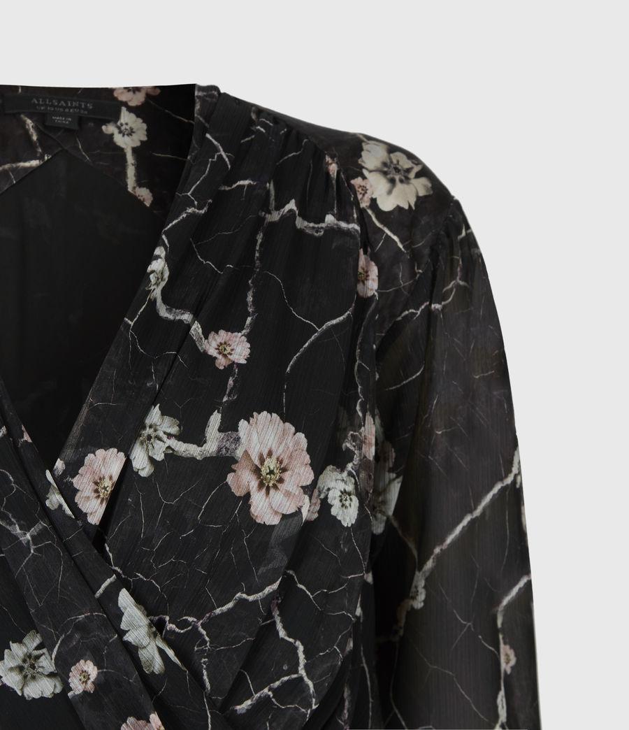 Women's Limina Silk Blend Hope Dress (black) - Image 5