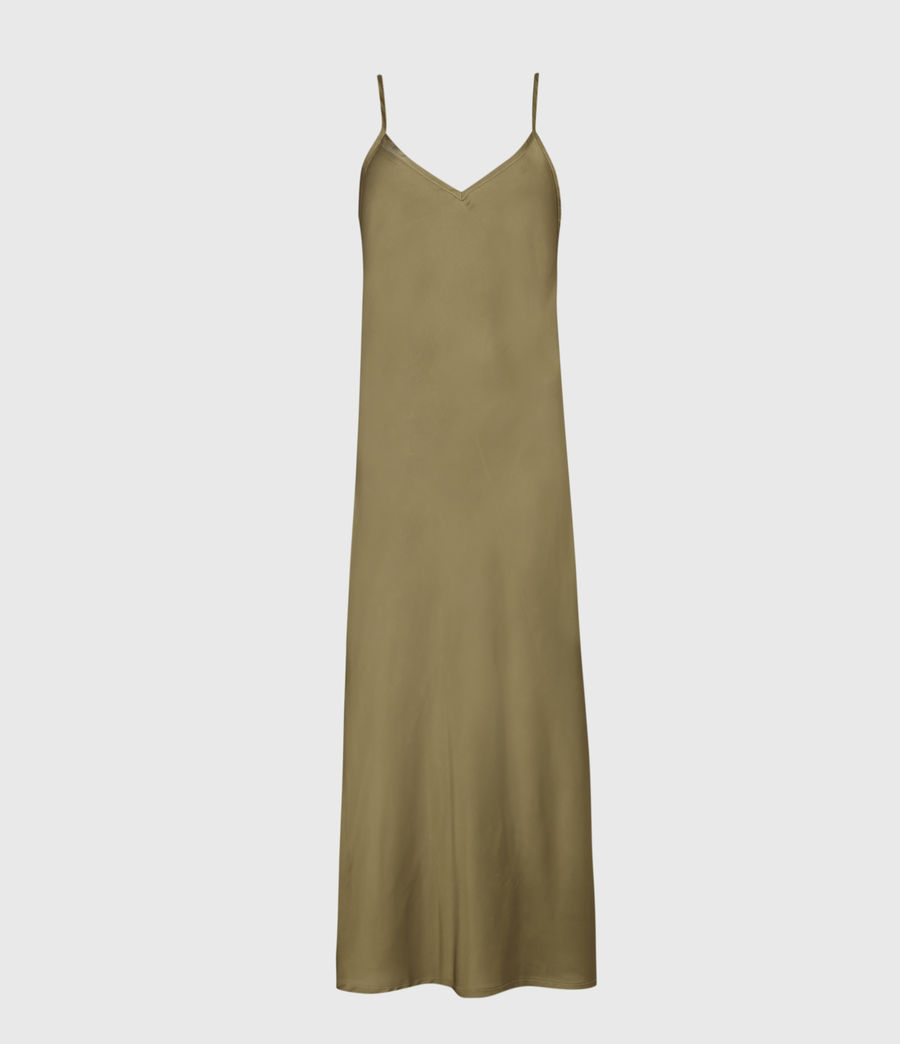 Women's Benno 2-In-1 Dress (pale_olive_green) - Image 2