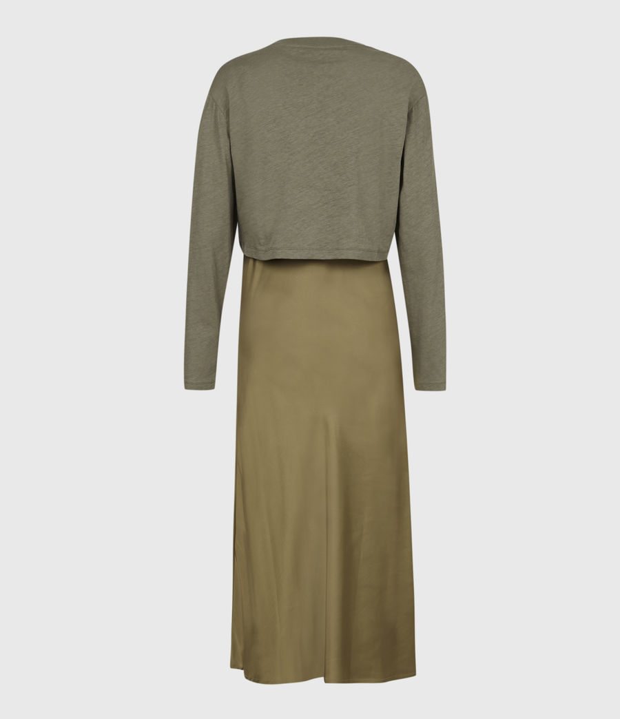 Women's Benno 2-In-1 Dress (pale_olive_green) - Image 3