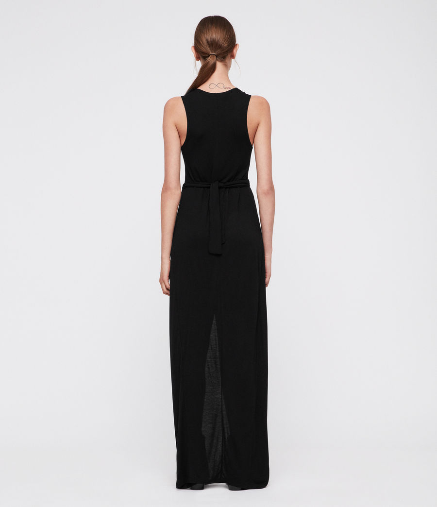 Women's Elke Vi Maxi Dress (black) - Image 4