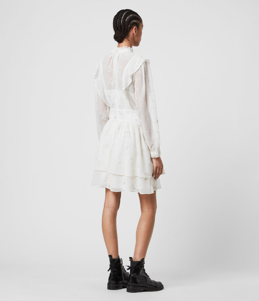 Damen Aislyn Ditsy Dress (chalk_white) - Image 5