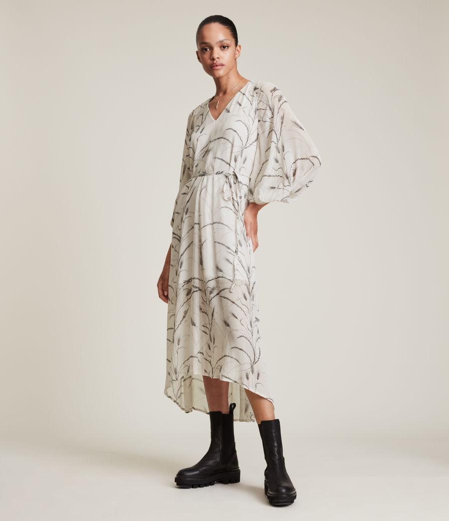 Women's Joelle Lowestoft Dress (ecru_white) - Image 1