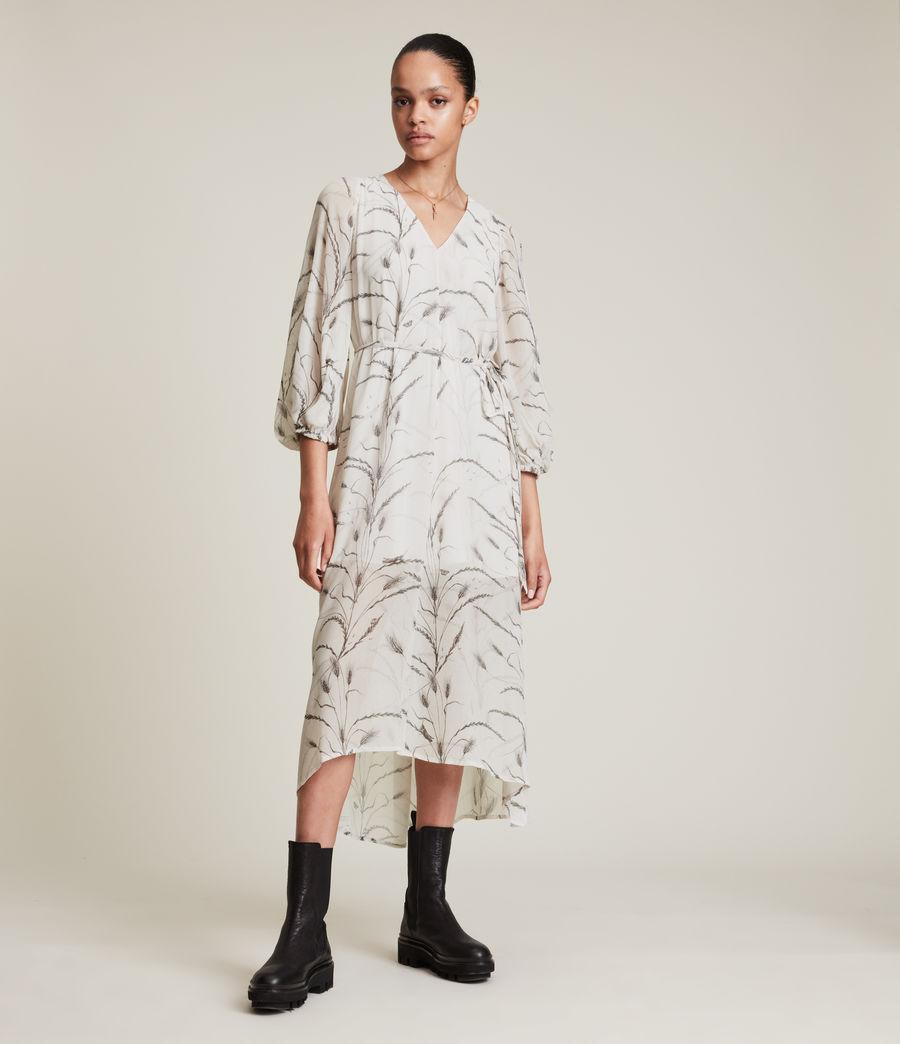 Women's Joelle Lowestoft Dress (ecru_white) - Image 3