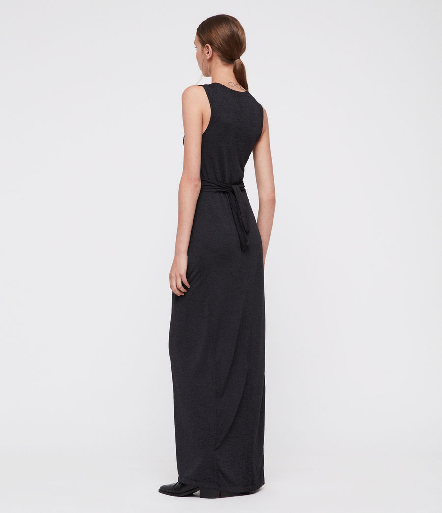 Damen Elke Maxi Kleid (dark_night_blue) - Image 4