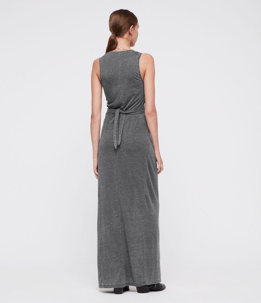 Women's Elke Maxi Dress (coal_grey) - Image 4