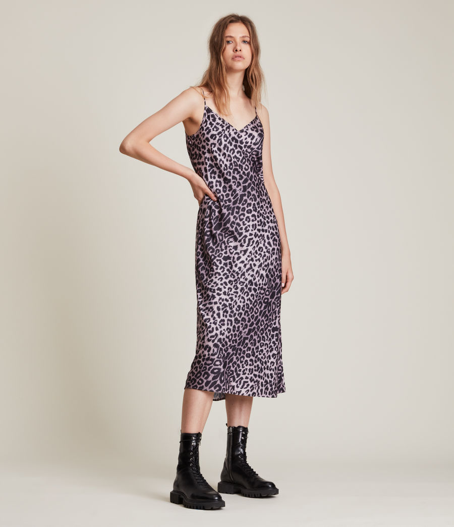 Women's Tierny Leppo Slip Dress (soft_pink) - Image 5