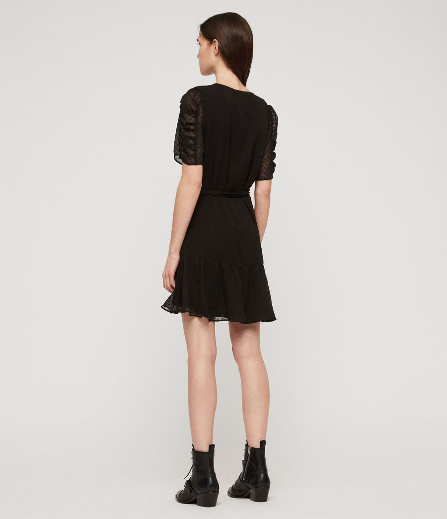 Women's Sienna Dress (black) - Image 5