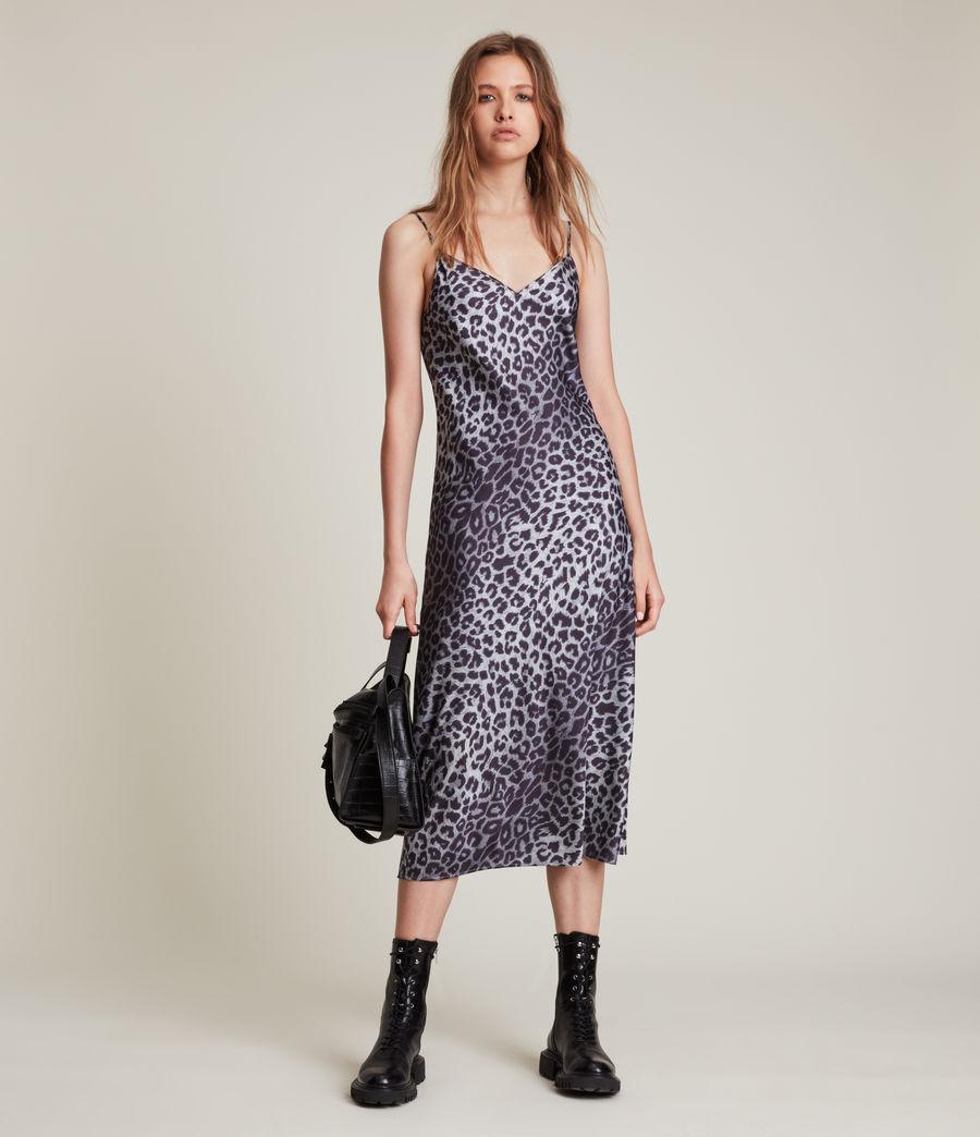 Womens Tierny Leppo Slip Dress (pewter_grey) - Image 2